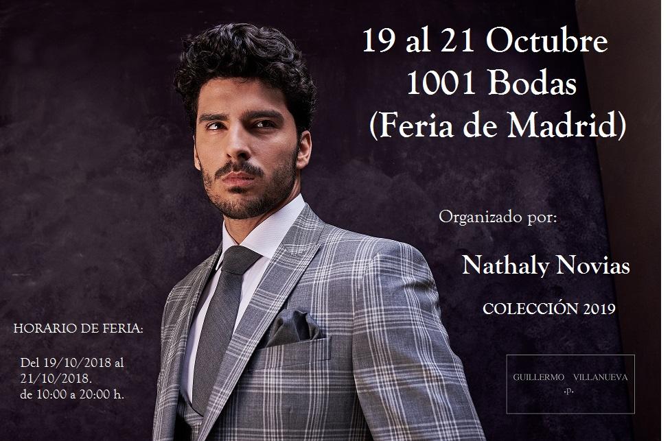PRÓXIMO EVENTO – MADRID – 1001 BODAS – NATHALY NOVIAS